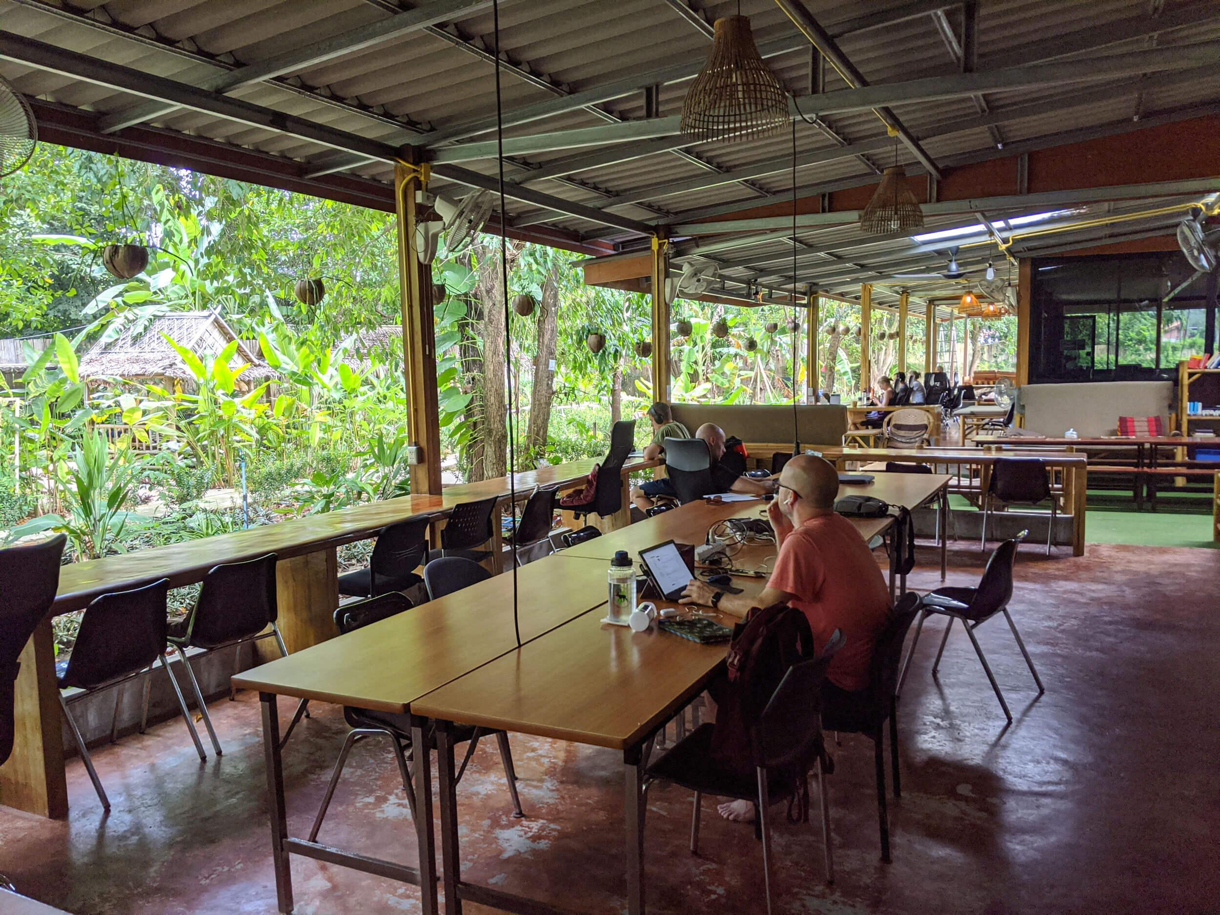 KoHub coworking space w Tajlandii (Fot. Aleksandra Braska)