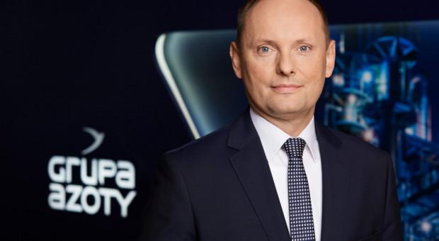 Nowym prezesem Grupy Azoty Police został Mariusz Grab