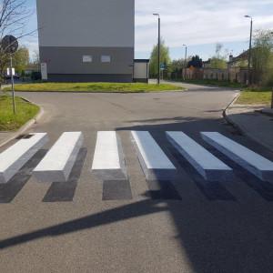 W Częstochowie powstało niezwykłe przejście dle pieszych