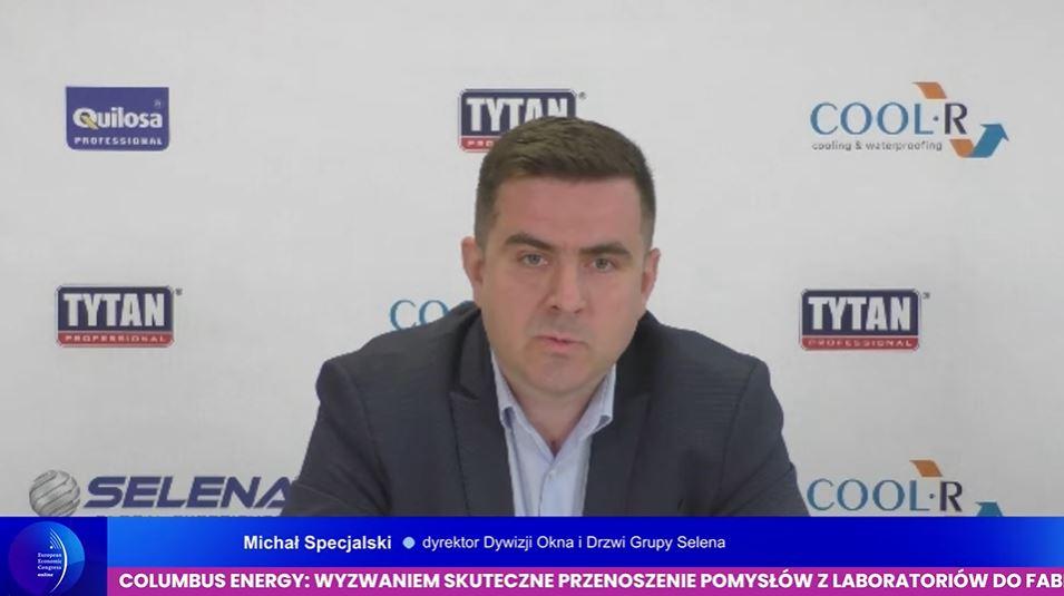 Michał Specjalski, dyrektor Dywizji Okna i Drzwi w grupie Selena. Fot. PTWP