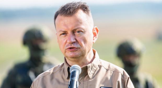 Minister zapowiedział duże zmiany w wojsku