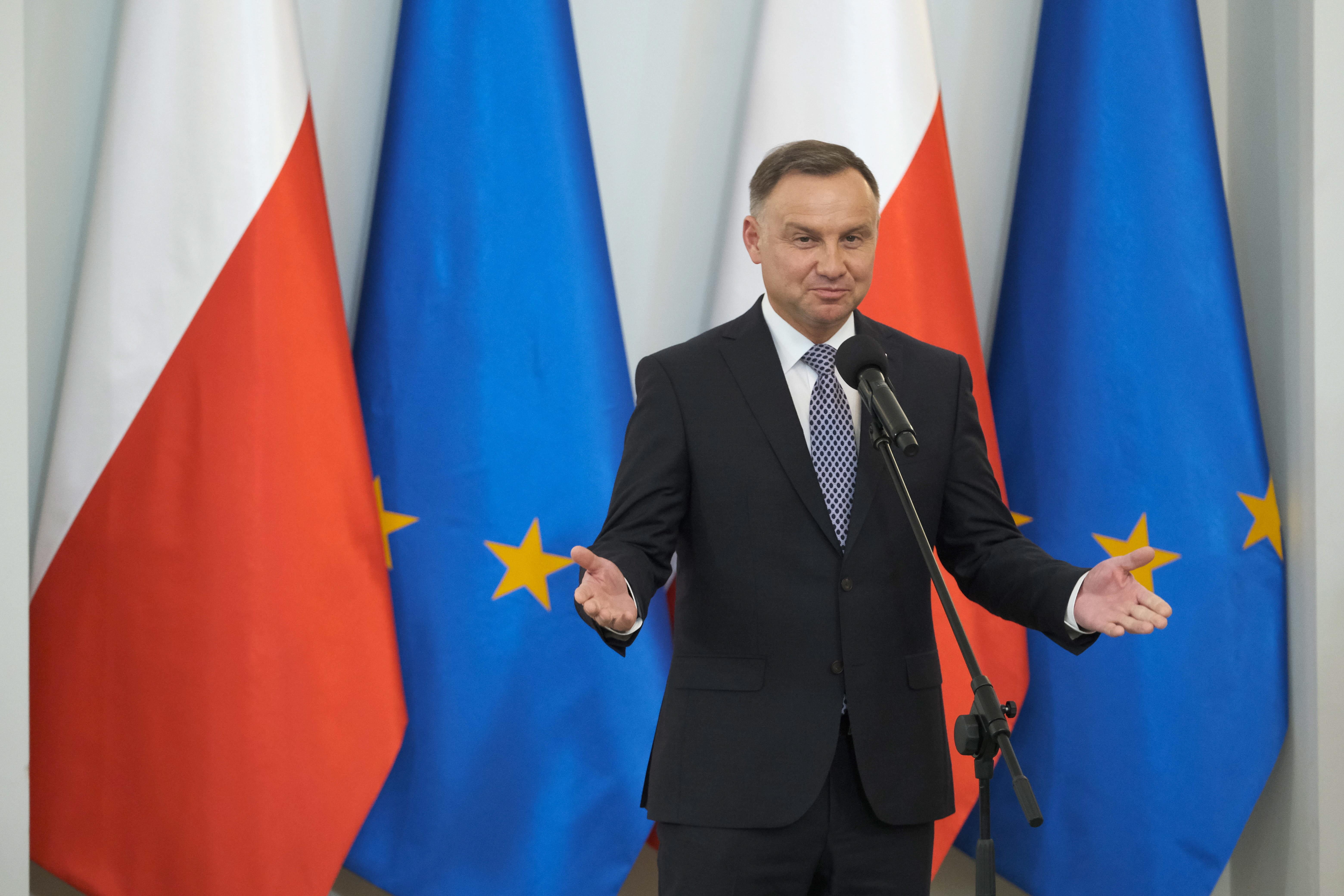 Andrzej Duda (fot. PAP/Mateusz Marek)