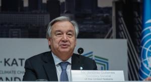 Sekretarz generalny ONZ Antonio Guterres mianowany na drugą kadencję