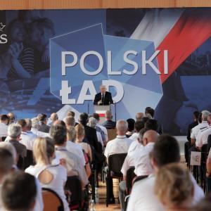 Kaczyński: plan dogonienia Europy do końca tej dekady, jeżeli chodzi o dochód na głowę