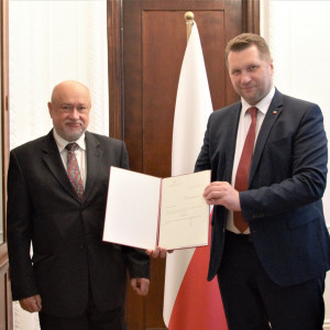 Prof. Stanisław Wrzosek nowym przewodniczącym Polskiej Komisji Akredytacyjnej