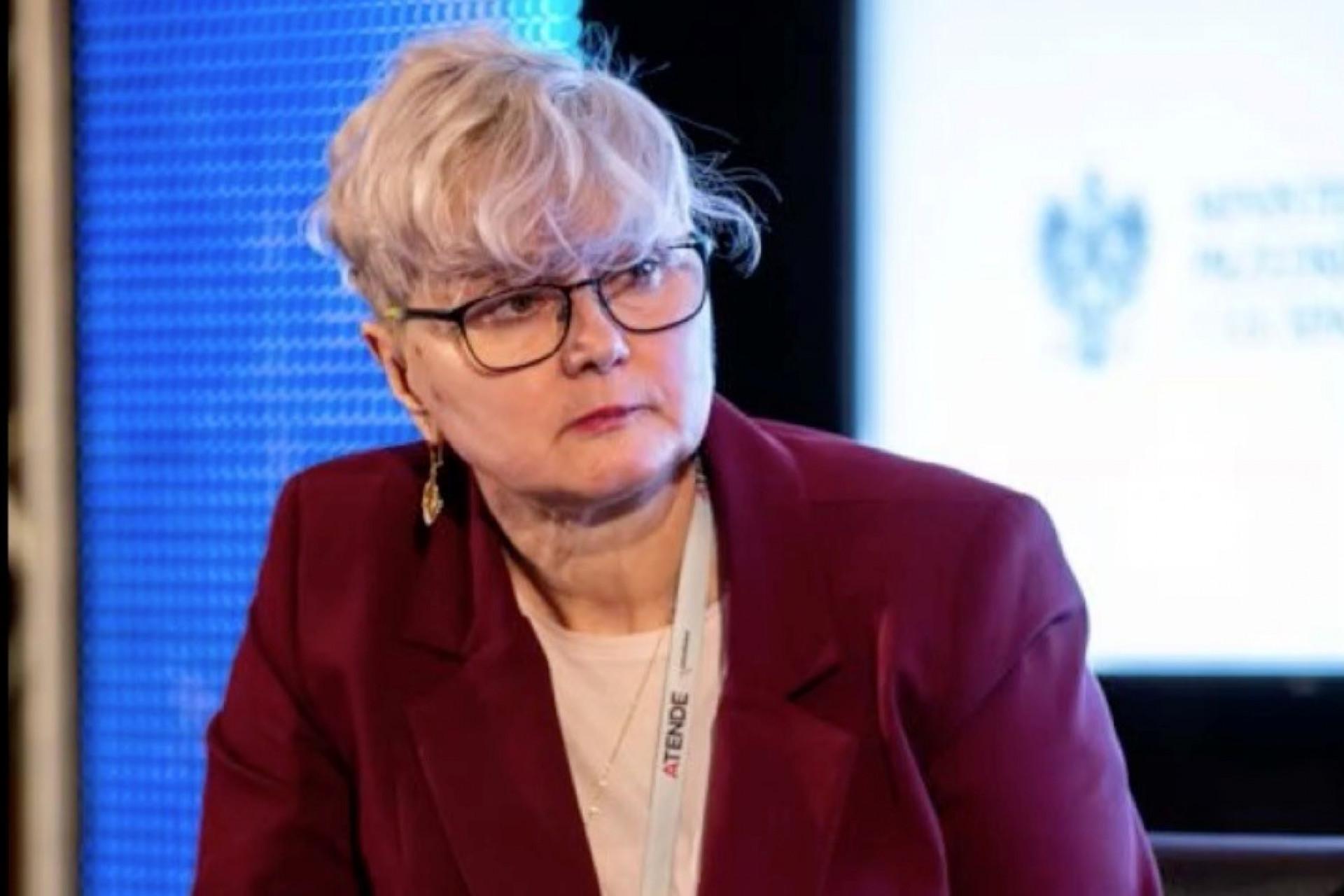Dr Małgorzata Kochańska, przewodnicząca Komitetu Technicznego Ośrodka Oceny i Doskonalenia Kompetencji BHP CIOP-PIB, ekspert SEKA, należąca do Koalicji Bezpieczni w Pracy (fot. archiwum prywatne)