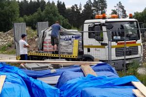 Tauron pomaga mieszkańcom Nowej Białej po tragicznym pożarze