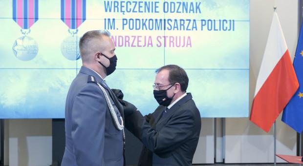 """Minister odznaczył policjantów. """"Jesteście elitą"""""""