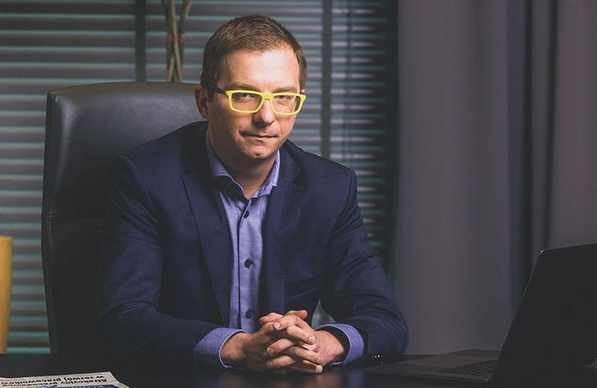 Łukasz Czernecki, wiceprezes firmy Euvic (fot. mat. pras.)