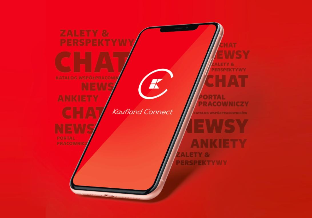Kaufland uruchomił aplikację mobilną Kaufland Connect (Fot. mat. pras.)