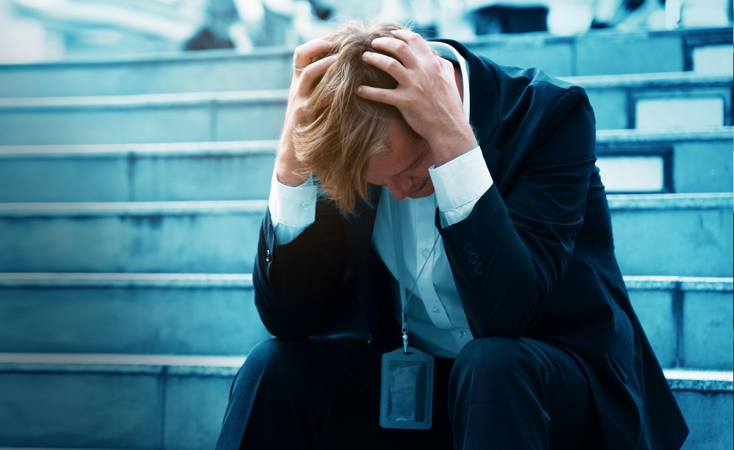 """Niemal 55 proc. liderów biorących udział w badaniu """"Stresoodporni"""" ma problemy ze snem (Fot. Shutterstock)"""
