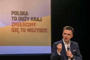 Hołownia: będę zachęcał parlamentarzystów Polski 2050 by podwyżkami wsparli cele społeczne