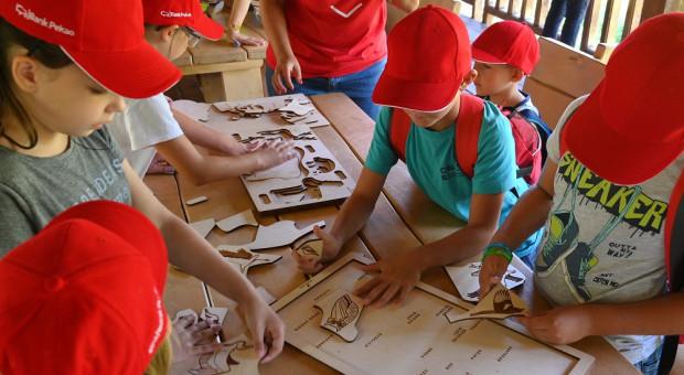 Bank Pekao wspiera żubry i edukuje dzieci