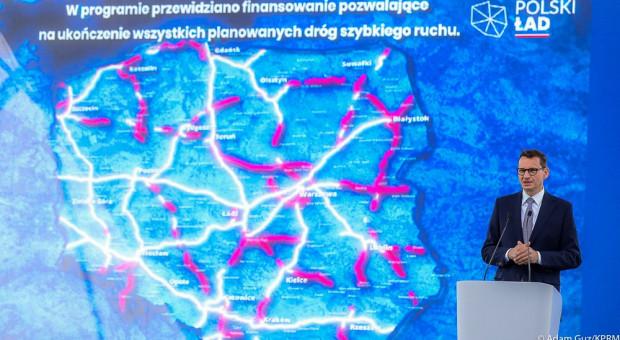 Premier: Program budowy dróg tworzy perspektywy dla firm