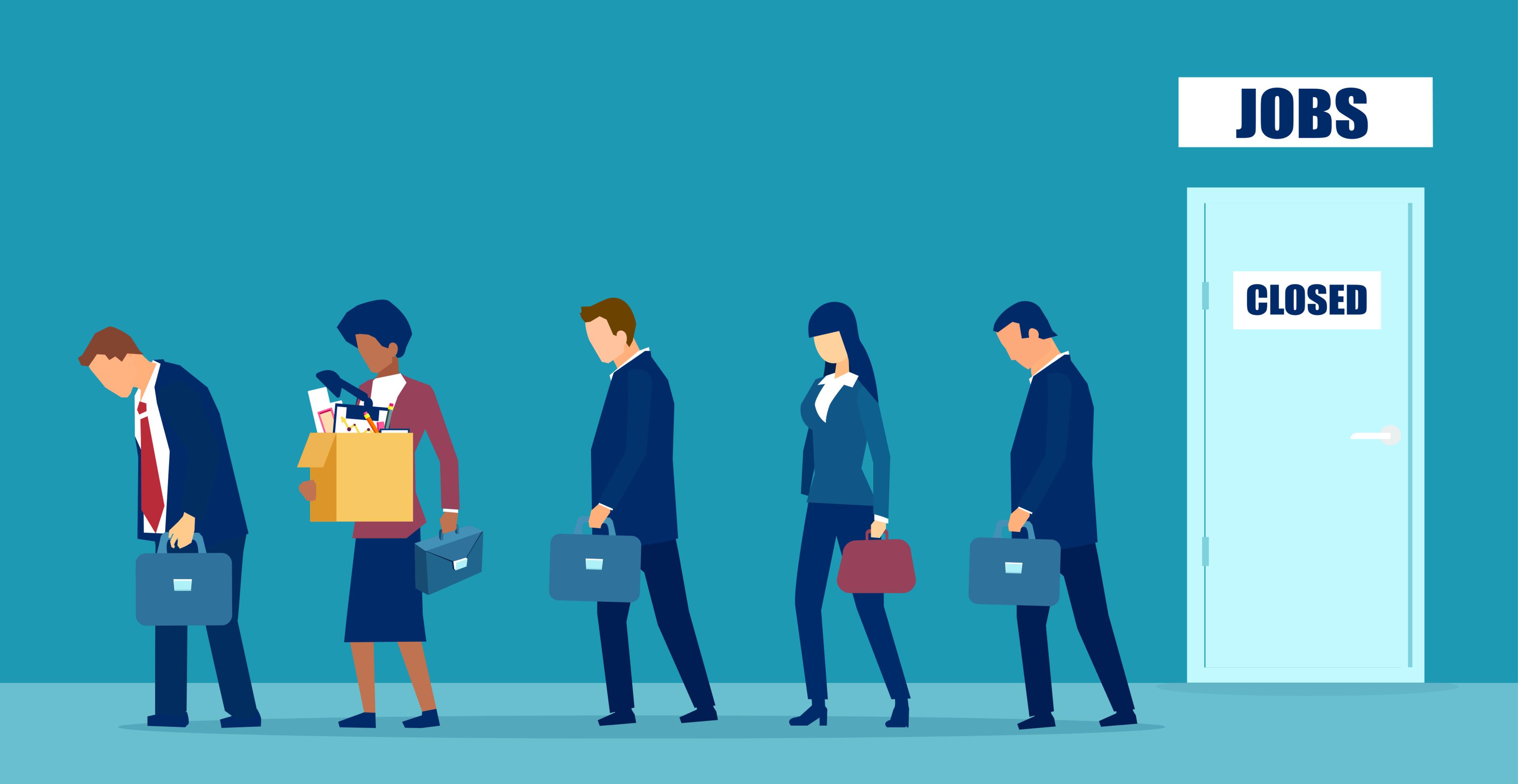 W krajach OECD pandemia zlikwidowała 22 mln miejsc pracy (Fot. Shutterstock)