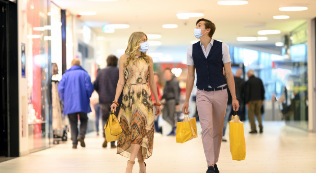 W centrach handlowych widać tendencję wzrostową
