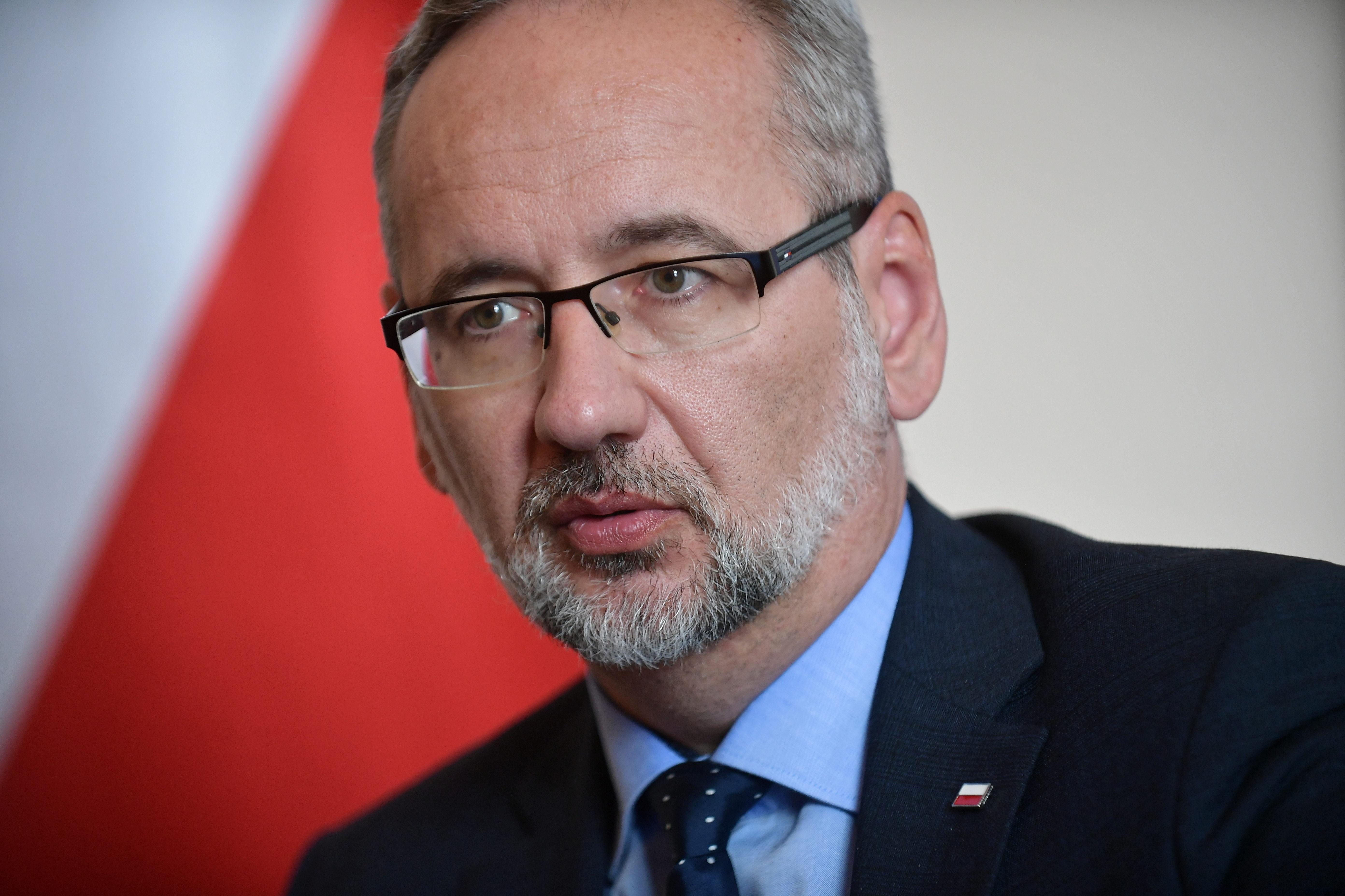 Minister zdrowia Adam Niedzielski (fot. PAP/Marcin Obara)