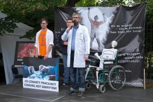 Protestujący lekarze nie przyszli na spotkanie, bo nie było na nim premiera