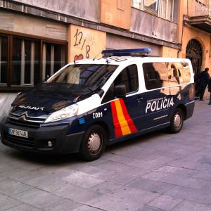 Hiszpańscy policjanci domagają się wyższych pensji