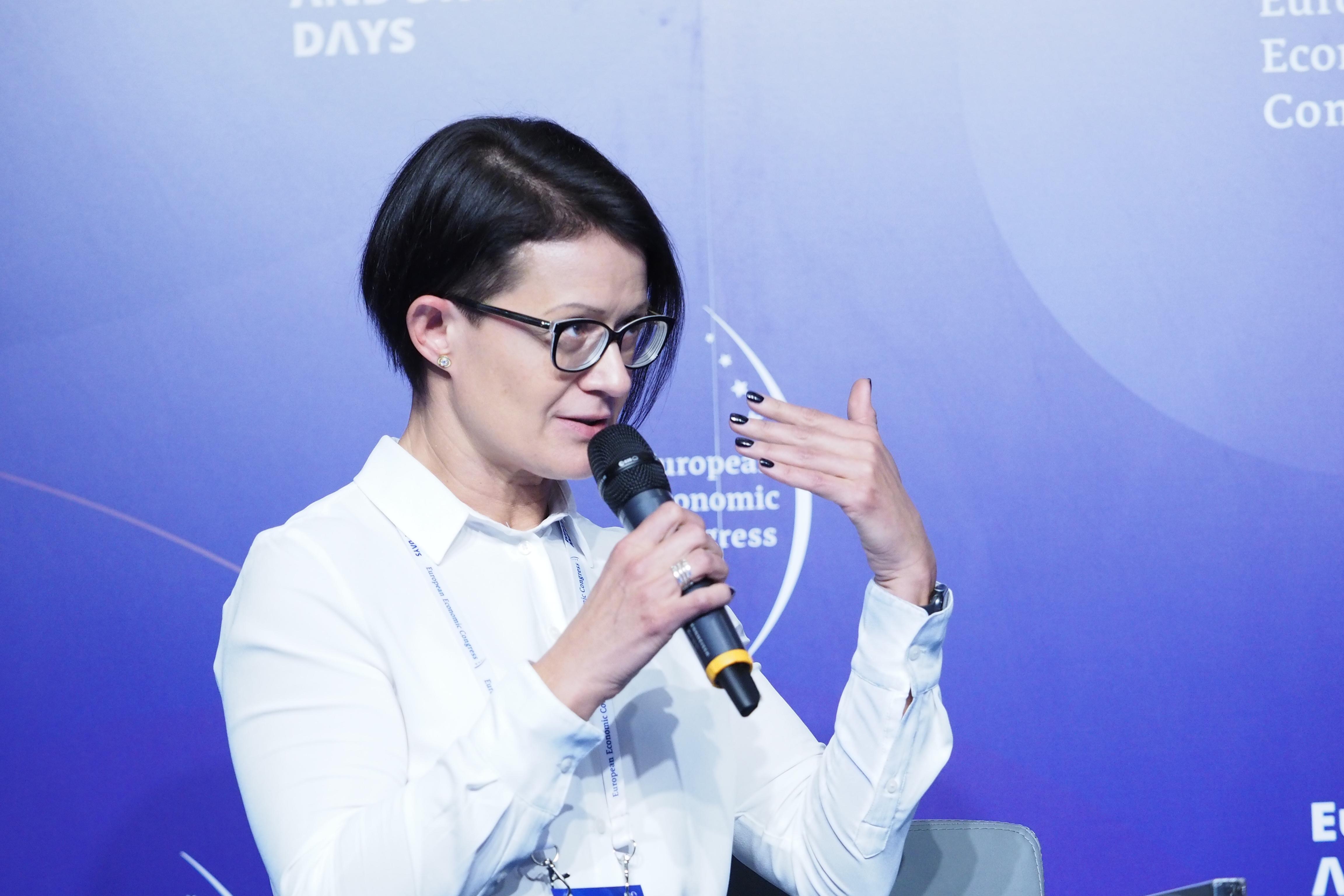 Sylwii Chada, dyrektor generalna TikToka na Polskę oraz region Europy Centralnej i Wschodniej (fot. PTWP)