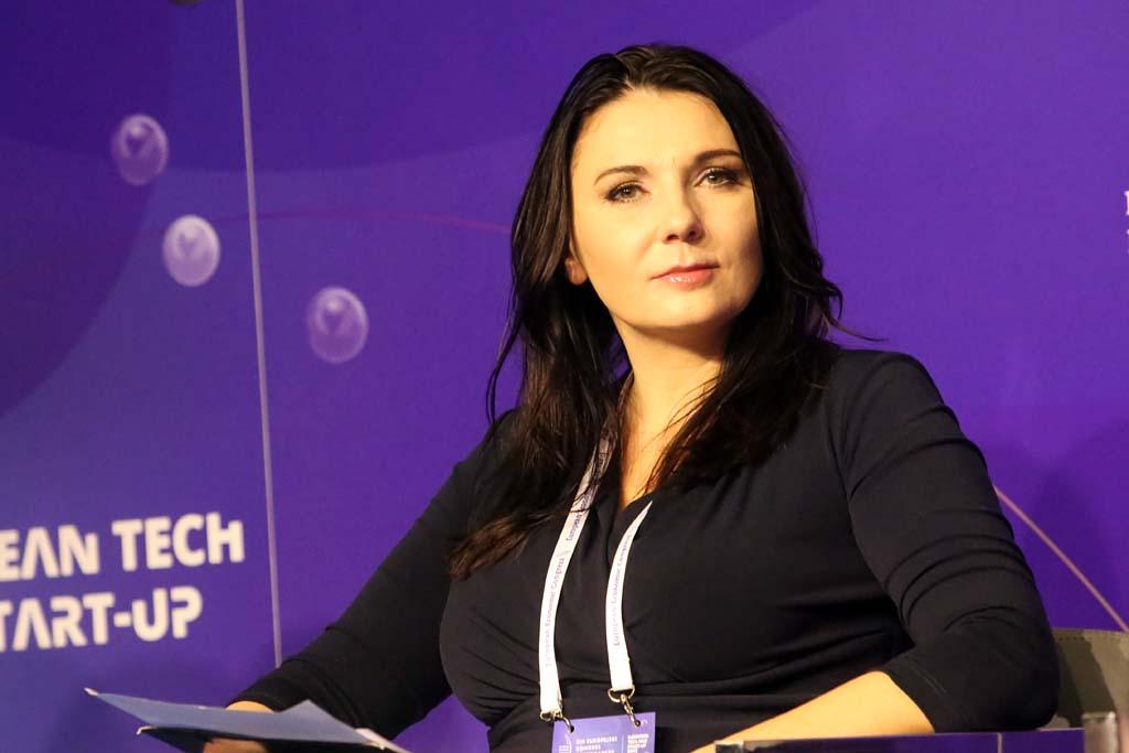 Anna Berczyńska, dyrektor zarządzający grupą Schaeffler, vice-president talent w ABSL Poland (Fot. PTWP)