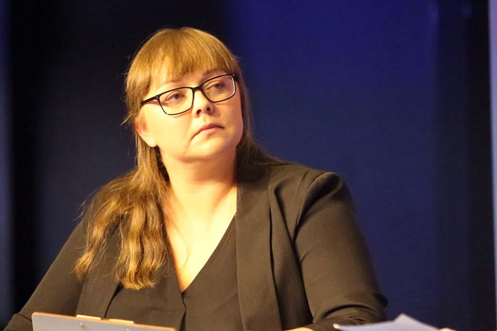 Dyskusję poprowadziła Katarzyna Domagała-Szymonek, dziennikarka PulsHR.pl (Fot. PTWP)