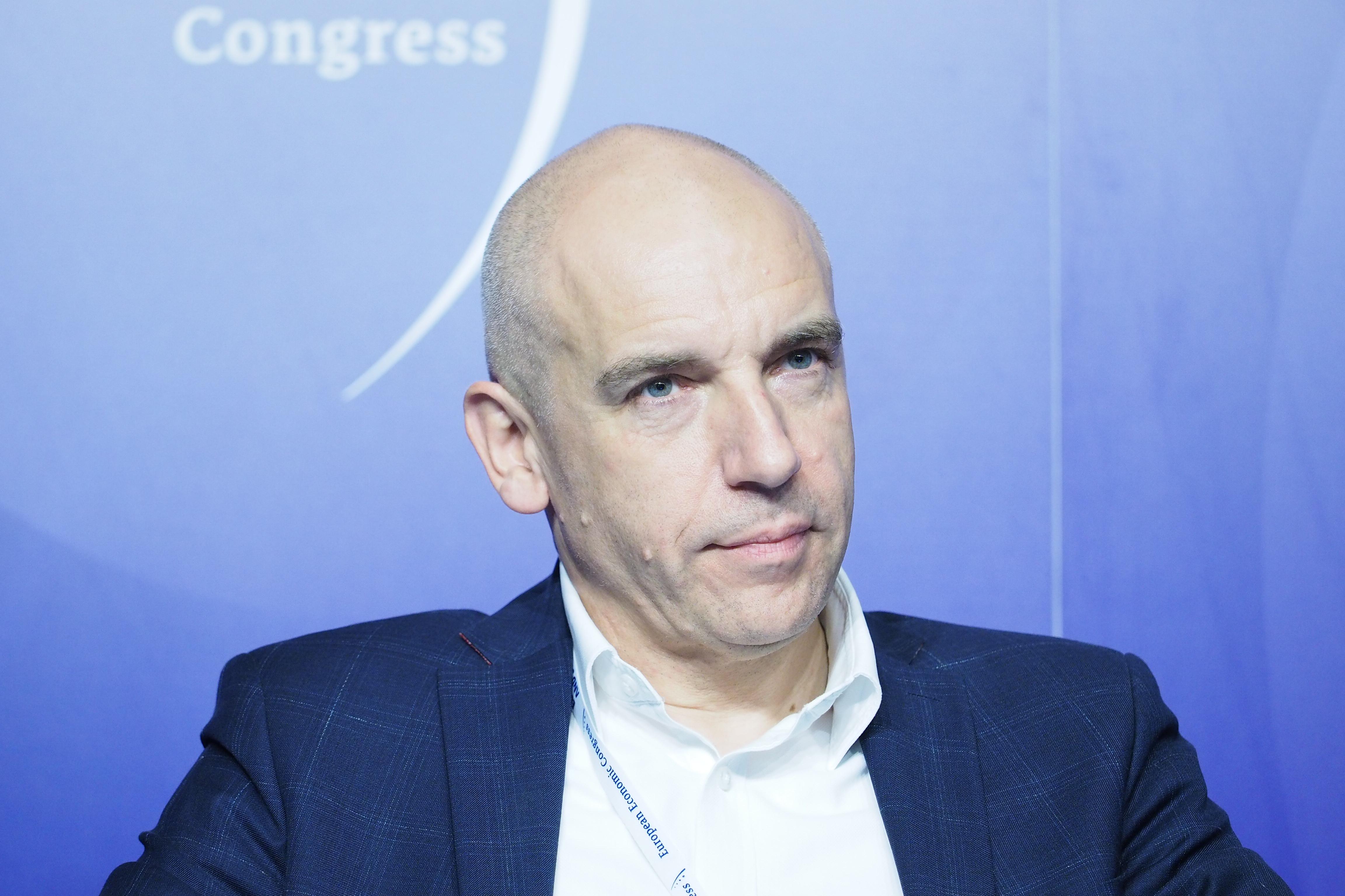 Przemysław Lewicki, operational digital transformation tribe lead, head of robotics w ING Banku Śląskim (Fot. PTWP)