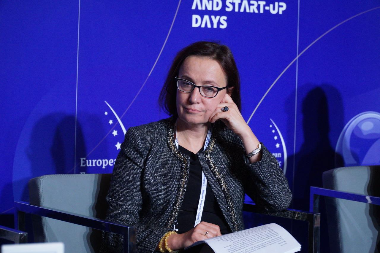Lucyna Stańczak-Wuczyńska, przewodnicząca rady nadzorczej banku BNP Paribas (fot. PTWP)