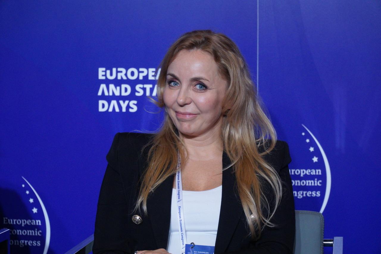 Sylwia Bilska, general manager Edenred Polska (fot. PTWP)
