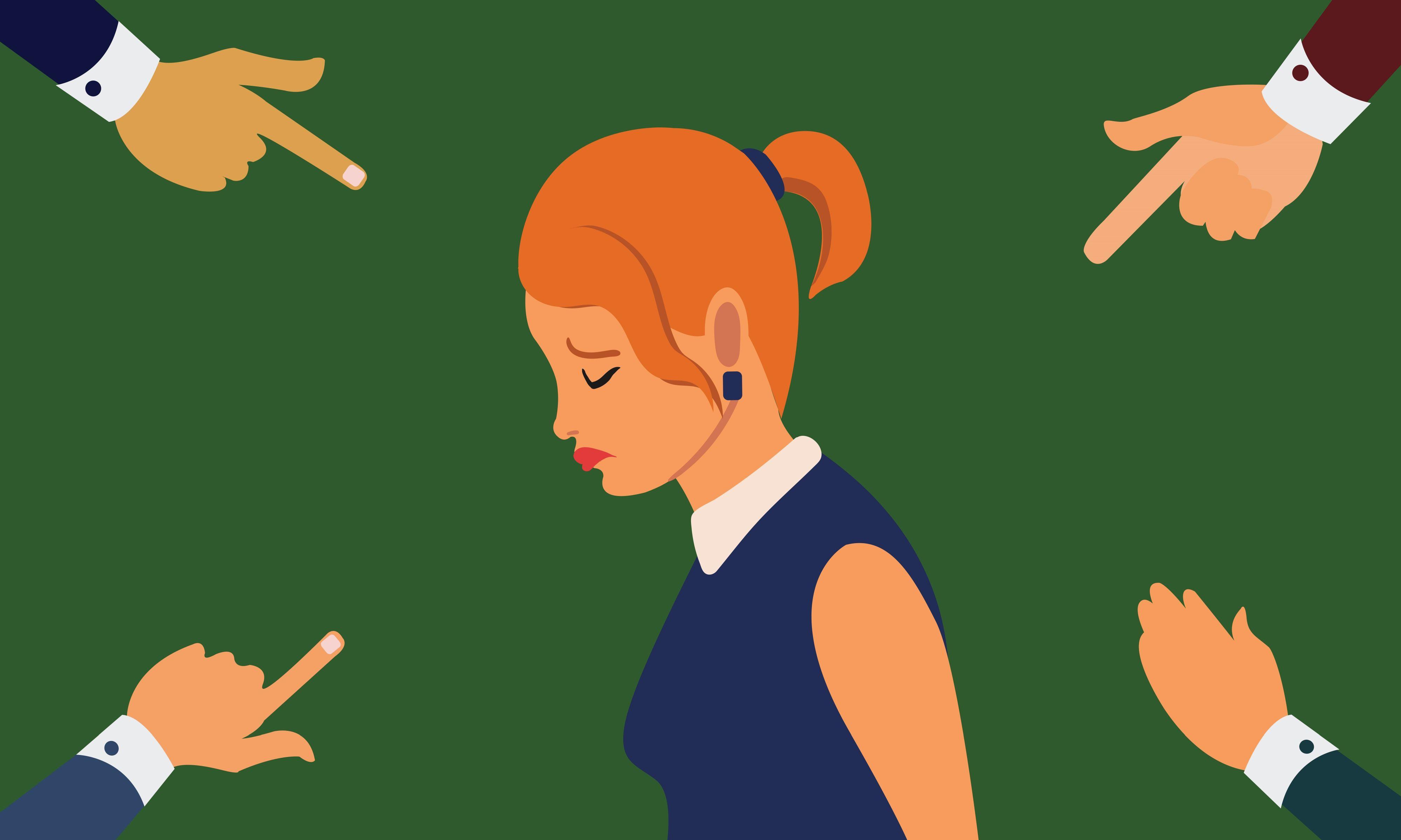 """Część pracowników czuje się """"odsunięta na bok"""" (Fot. Shutterstock)"""
