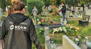 Wolontariusze KGHM uporządkowali stary cmentarz