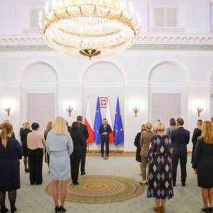 Prezydent powołał stu nowych sędziów